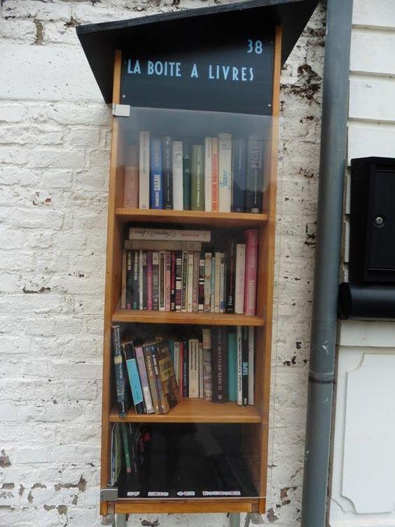 Boîte à livres Aiseau-Presles