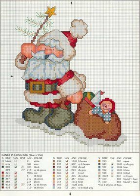 Gráficos-de-ponto-cruz-do-Papai-Noel10