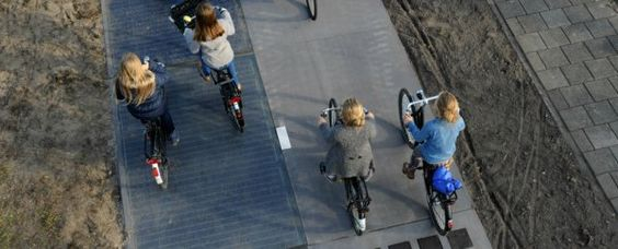 The Netherlands made headlines last year when it built the world's first solar road - an energy-harvesting bike path paved with glass-coated solar panels.