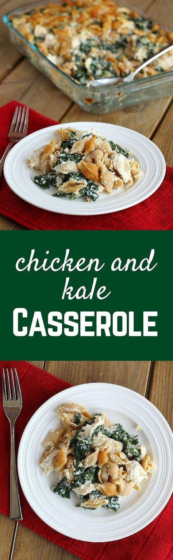 This Chicken and Kale Casserole is perfect if you want an easy ...