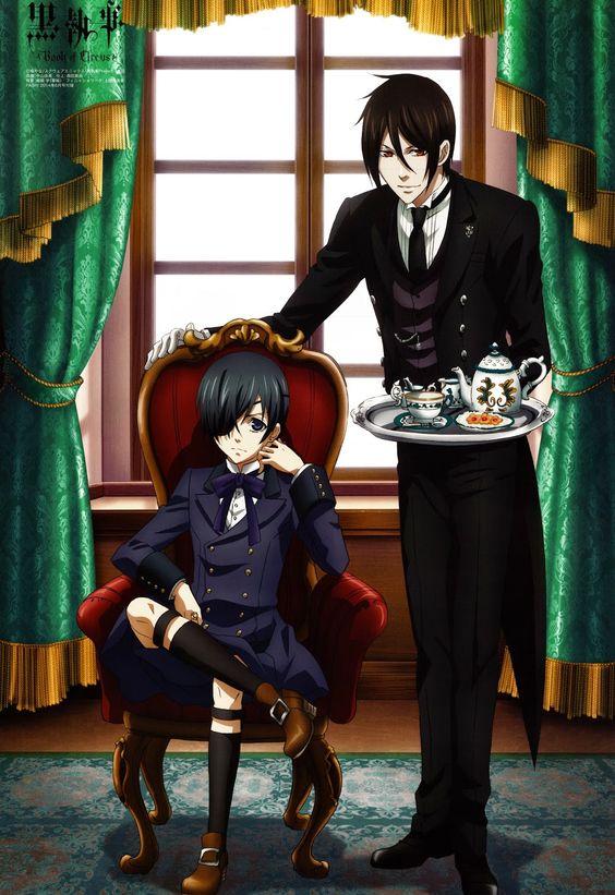 #Kuroshitsuji #Blackbutler #Ciel #CielPhantomhive #Alois #AloisTrancy #Sebastian #Claude