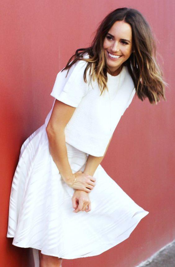 Как да се облечем изцяло в бяло?