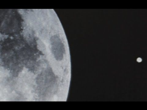 Giant Disc Shaped UFO Filmed Over The Moon. Just Like The NASA Tether Incident UFOs. (Part 1)
