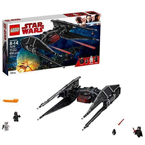 Lego Star Wars Episode Viii Kylo Ren S Tie Fighter 75179 Building Kit Tie Silencer Model And Popular Gift For Kids 630 Pieces In 2020 Lego Star Wars Star Wars Episodes Tie Fighter