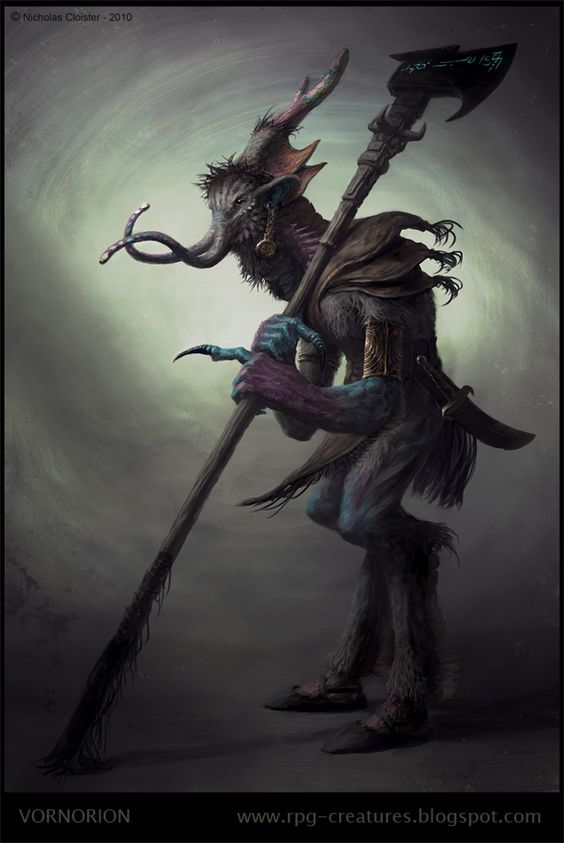 RPG Creatures - a free online Bestiary: Professional Creature Design