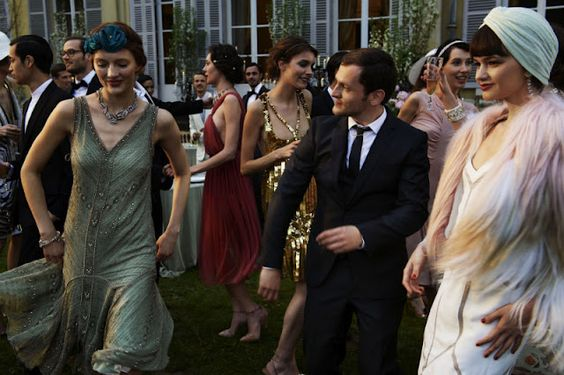 Great Gatsby inspired fashion / styles.