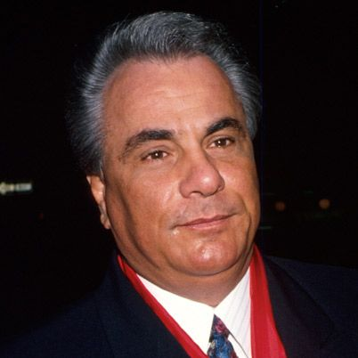 """John Gotti, born in the Bronx on October 27, 1940, was the Boss of the New York City Gambino crime family. He was known for his outspoken personality and flamboyant style, resulting in the nickname, """"The Dapper Don."""" In 1992, Gotti was convicted of 13 murders and various other charges and was sentenced to life in prison without parole. He died there 10 years later."""