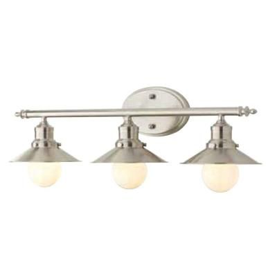 home decorators collection 3 light brushed nickel retro vanity light 1001564508 the home