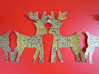 sister outlaws | Christmas craft: Paper