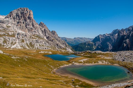 Alpine lakes by Ivan Bertusi, via 500px