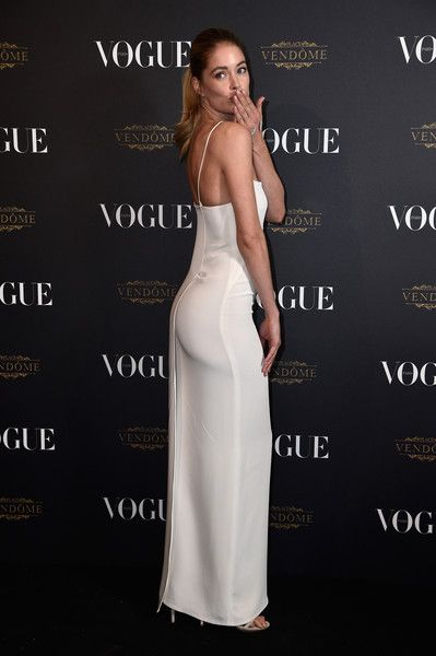 Vogue 95th Anniversary Party Arrivals - Paris Fashion Week Womenswear Spring/Summer 2016: