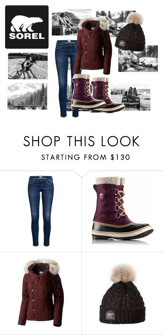 """""""Introducing the 2015 Winter Collection from SOREL: Contest Entry"""" by jazzypacman ❤ liked on Polyvore featuring SOREL"""