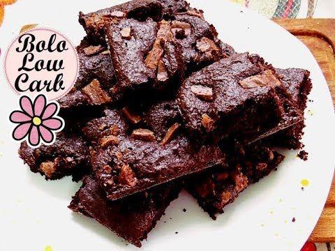 Bolo De Chocolate Low Carb Feito Com Farinha De Aveia Youtube