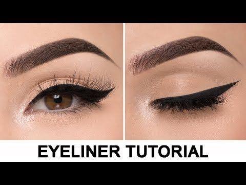 كيفية رسم الاي لاينر للمبتدئين بطريقة سهلة Youtube Perfect Winged Eyeliner Makeup Tutorial Eyeliner Eyeliner Tutorial