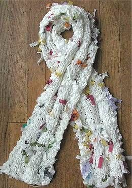 Free Knitting Pattern For Ribbon Scarf : Pinterest   The world s catalog of ideas
