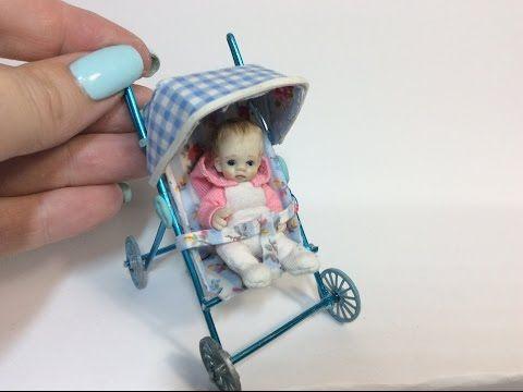 Miniature Baby Stroller/Pram Tutorial                              …