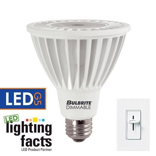14 Watt Dimmable Led Par30 Medium Base Soft White Set Of 3 Dimmable Led Led Light Bulb Bulbrite