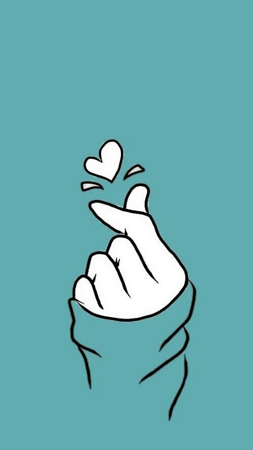 Love Sign Korean Lockscreen Art Wallpaper Cute Wallpaper Backgrounds Wallpaper Backgrounds Cute korean wallpaper tumblr