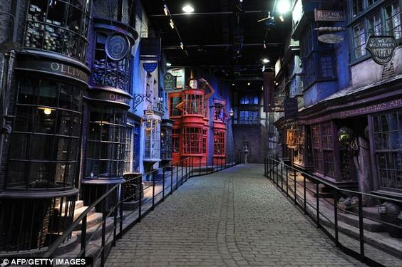 Harry Potter movie set
