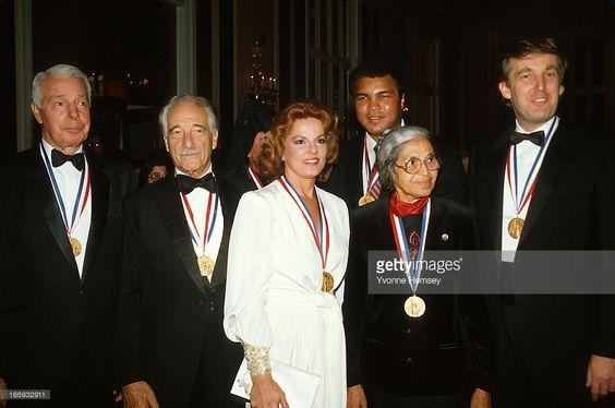 Joe DiMaggio, Victor Borge, Anita Bryant, Muhammad Ali, Rosa Parks, and Donald…