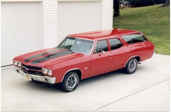 a 1970 Chevelle SS station wagon