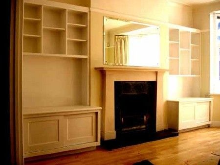 Brilliant  Bookshelves Flanking Fireplace On Pinterest  Fireplaces Built Ins