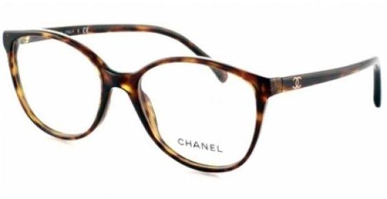 Lunettes de vue CHANEL CH 3213 C714 _ Dark Havana Mes anciennes lunettes cassées ❤️ nostalgie ...