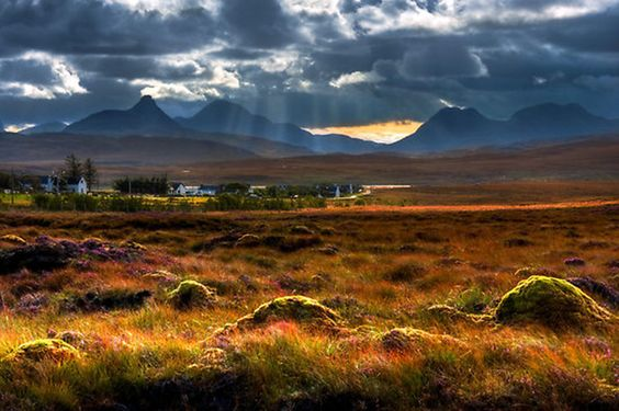 The Braes of Achnahaird, by Achiltibuie, far North West of Scotland.
