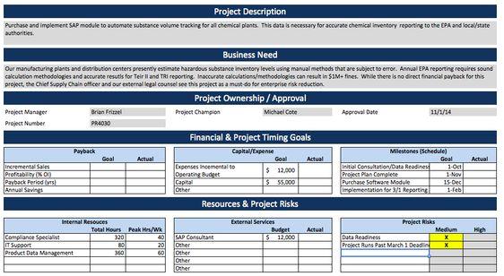 Afbeeldingsresultaat voor project charter powerpoint template - project charter template