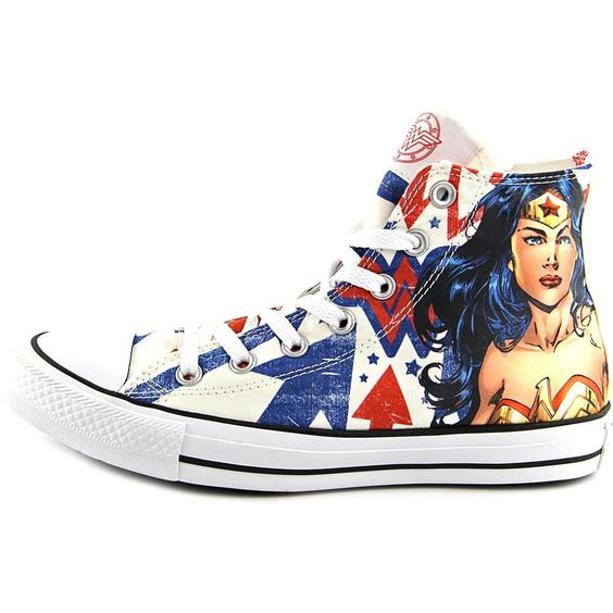 Amazon.com | Converse Chuck Taylor Men's Sneaker DC Comics Wonder Woman…: