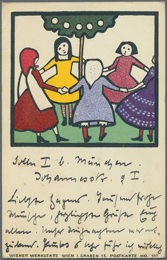 Mela Köhler, 1911 , WW 111,  Ausruf : 200.00 Euro .