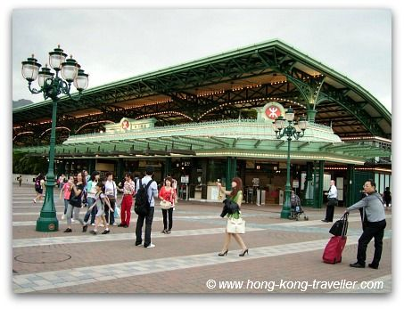 And naturally, HK Disney has its own MTR Station.