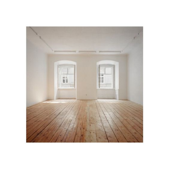 Instalando o piso de madeira ❤ liked on Polyvore featuring rooms, empty rooms, backgrounds, interior and home