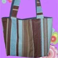 Schlichte Tasche  Kostenlos: Schnittmuster für eine Tasche