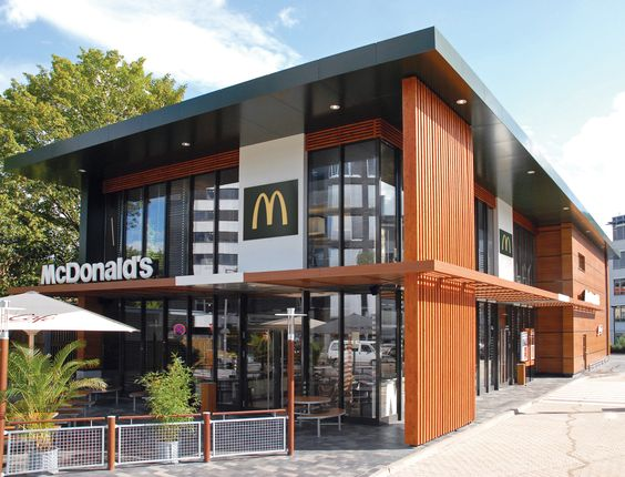 Exterior storefront design google image result for www for Restaurantes modernos exterior