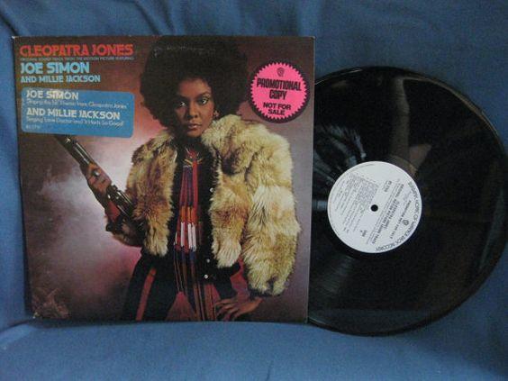 RARE Vintage Cleopatra Jones  White Label Promo by sweetleafvinyl, $29.99