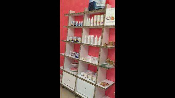 Aromatizzata Carpi negozio biocosmesi in cartone
