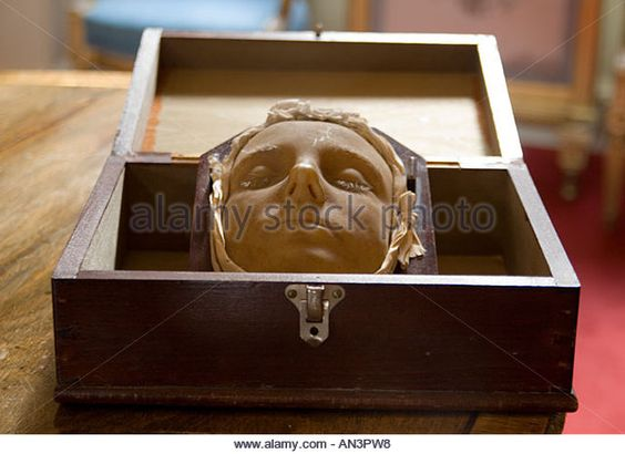 Mary Queen of the Scots death mask
