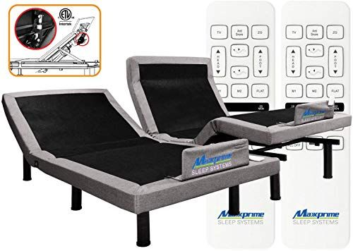 Enjoy Exclusive For Maxxprime Adjustable Bed Frame Individual Head
