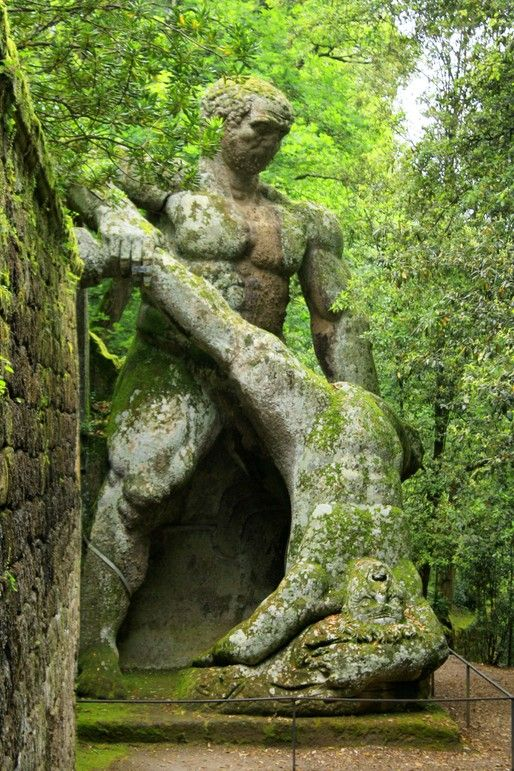 Monster Park - Bomarzo Italy | Blogs | Archinect