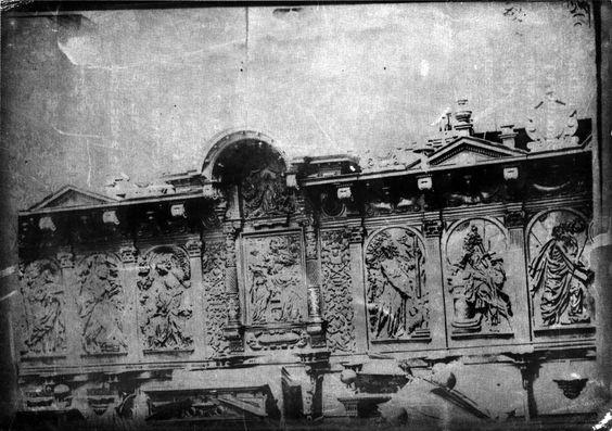 Cadeirado do coro realizado por Francisco de Moure da catedral de Lugo, ca. 1900