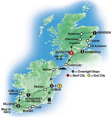 2014 - 12 Day Scottish & Irish Supreme Deluxe Hotels - 11 Nts/20 Meals from*$4768 Land Only  •Luxurious Hotels Throughout •Gourmet Dining •First Class Train to Cork •St Andrews • Kiss The Blarney Stone •Knappogue Castle Medieval Banquet •Slieve League - Europe's Highest Sea Cliffs • Titanic Belfast • Cliffs of Moher For Details Contact http://taylormadetravel.agentarc.com  taylormadetravel142@gmail.com  call 828-475-6227