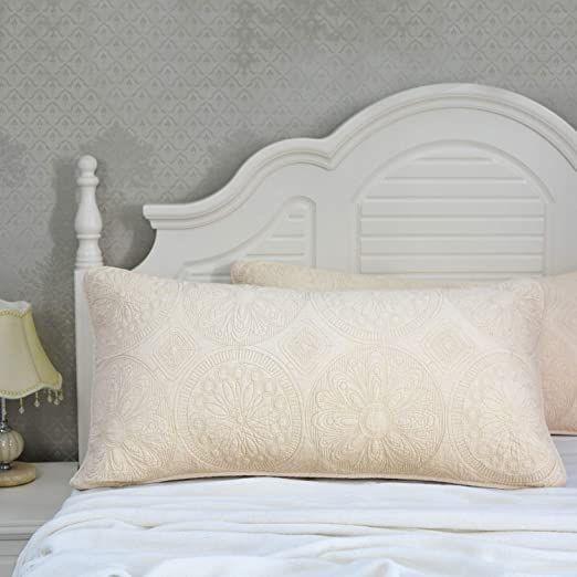 Mackenna Patchwork Cotton Quilt Shams In 2021 Quilted Pillow Covers Quilts Quilted Pillow Shams