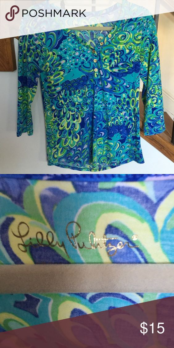 Lilly Pulitzer Shirt size XS XS Tops Tees - Short Sleeve