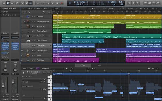 A Apple lançou hoje uma nova versão do seu conhecido software musical para OS X, Logic Pro. A nova versão chamada de Logic Pro X traz diversas melhorias e novidades, a novidade que tem recebido mais destaque é o Logic Remote, uma aplicação disponível para iPad que permite controlar o software ...