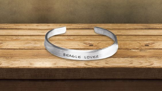Beagle Lover Hand Stamped Bracelet * JUST RELEASED *Limited Time…