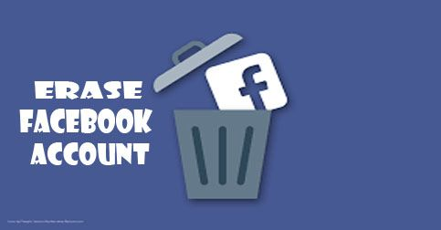 Erase Facebook Account How To Delete Facebook Account Delete Facebook Accounting Facebook Mobile App
