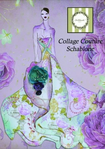 Collage Couture Schablone 1