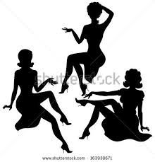 Image result for 1960  silhouettes
