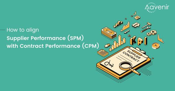 How To Align Supplier Performance Management Spm With Contract Performance Management Cpm Contract Management Performance